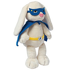 Manhattan Toy Superhero Bunny Stuffed Animal