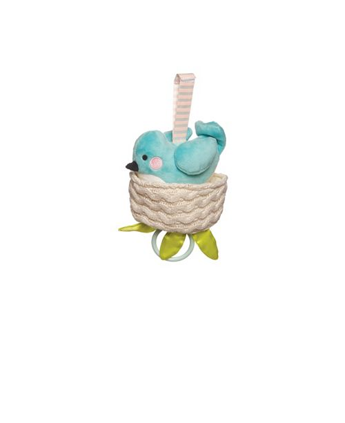 Manhattan Toy Company Manhattan Toy Lullaby Bird Pull Musical Crib And Baby Toy