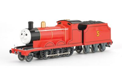 Bachmann Trains Thomas And Friends James The Red Engine Locomotive With Moving Eyes Ho Scale Train