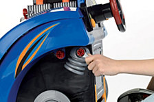 Theo Klein Hot Wheels Service Car Station Engine