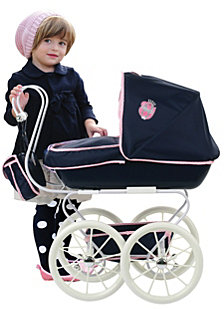 Hauck Classic Navy Toy Doll Pram Stroller