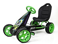 Sirocco Ride On Pedal Go Kart, Green