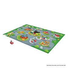 Tcg Toys Mickey Mouse Clubhouse Jumbo Mega Mat Play Mat With Bonus Vehicle