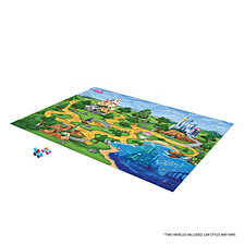 Tcg Toys Disney Princess Jumbo Mega Mat Play Mat With 2 Bonus Vehicles