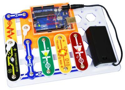 Elenco Snap Circuits Snapino Making Coding A Snap Learning Set