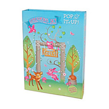 Fun2Give Pop It Up Enchanted Forest Combo Set Play Box With Play Mat And Coloring Set