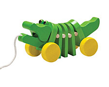 Plantoys Dancing Alligator Pull Along Toy