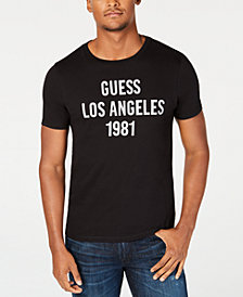 GUESS Mens Los Angeles Graphic T-Shirt