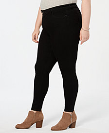 Style & Co Plus Size Power Sculpt Skinny Jeans, Created for Macy's