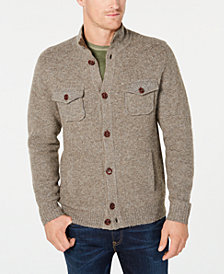 Tommy Bahama Men's Desert Dunes Mock-Collar Cardigan