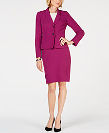 Le Suit Two-Button Skirt Suit
