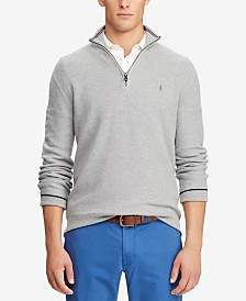 Polo Ralph Lauren Mesh Half-Zip Sweater
