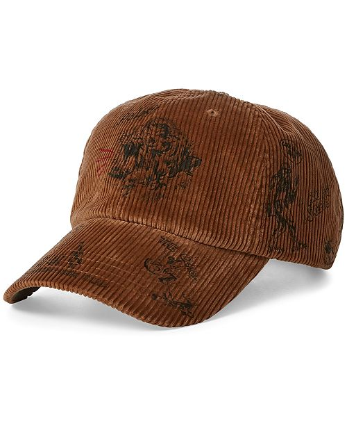 97066a395373e Polo Ralph Lauren Men s Corduroy Baseball Cap  Polo Ralph Lauren Men s  Corduroy Baseball ...