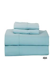 Luxury Concepts 320 TC Solid Sateen Queen Sheet Set