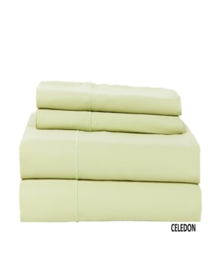 Luxury Concepts 500 Tc Solid Sateen Queen Sheet Set Bedding