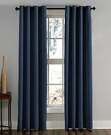 "Lenox 50"" x 144"" Crushed Texture Curtain Panel"