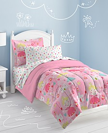 Pretty Princess Full Comforter Set