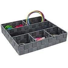 Home Basics Large Flecked Granite Plastic Storage Bin
