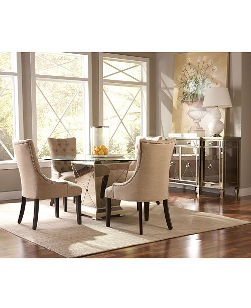 Furniture Marais Round Dining Room Furniture Collection