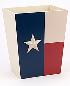 Texas Star Wastebasket