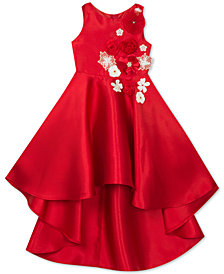 Rare Editions Little Girls Embellished Mikado Dress