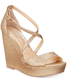 Averie Evening Wedge Sandals
