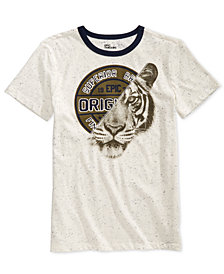 Epic Threads Big Boys Tiger Splice Graphic T-Shirt, Created for Macy's
