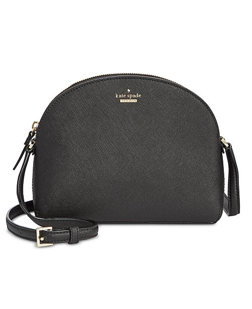 44fead8d8b kate spade new york Cameron Street Large Hilli Safiano Leather Crossbody