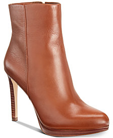 Nine West Quanette Platform Dress Booties
