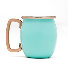 Turquoise Moscow Mule Shots, Set of 4