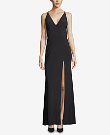 Xscape Side-Slit Gown