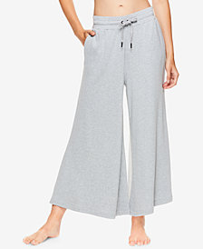 Gaiam X Jessica Biel Bryant Fleece Culotte Pants