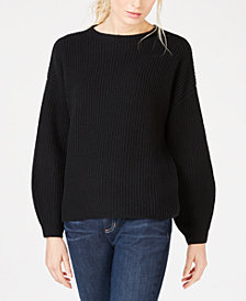 Eileen Fisher Cashmere Round-Neck Sweater