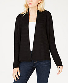 Eileen Fisher Tencel® Open Front Simple Cardigan