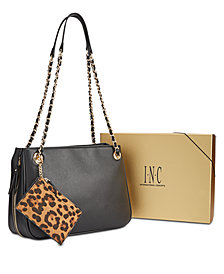 I.N.C. Deliz Chain-Link Shoulder Bag Gift Box, Created for Macy's