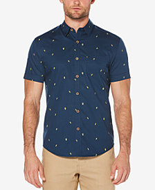 Cubavera Men's Big & Tall Avocado-Print Shirt