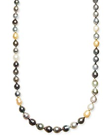"""Multi-Pearl (8-11mm) Graduated Strand 35-36"""" Necklace"""