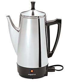 2 to 12-Cup Stainless Steel Percolator