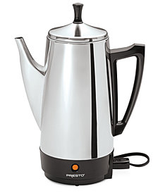 Presto® 2 to 12-Cup Stainless Steel Percolator