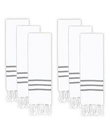 Linum Home Textiles Alara Kitchen Towels Set of 6