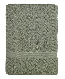 Linum Home Herringbone Bath Sheet