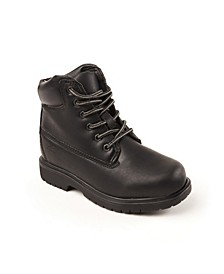 Toddler, Little, and Big Boys Mak2 Thinsulate Waterproof Comfort Work boot
