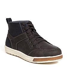Deer Stags Little and Big Boys Landry Memory Foam Dress Casual Comfort High Top Sneaker Boot
