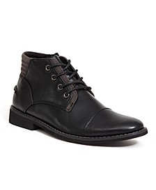 Little and Big Boys Hamlin Memory Foam Dress Comfort Cap Toe Boot