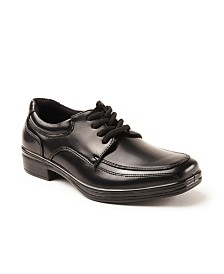 Deer Stags Sharp Boy's Classic Dress Comfort Oxford