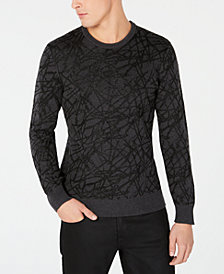 I.N.C. Men's Lurex Sweater, Created for Macy's
