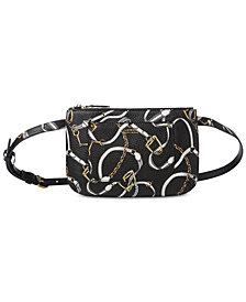 Lauren Ralph Lauren Zip-Top Belt Bag