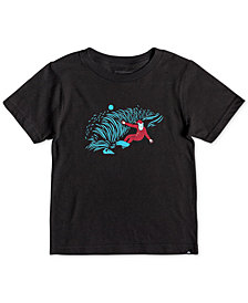 Quiksilver Little Boys Santa Shred Graphic T-Shirt