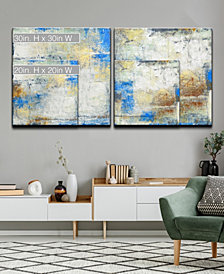 Ready2HangArt 'The View I/II' 2 Piece Abstract Canvas Wall Art Set Collection