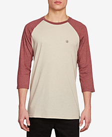 Volcom Men's Raglan-Sleeve T-Shirt